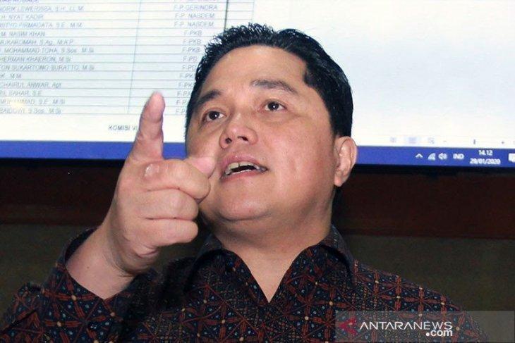 Menteri BUMN tolak gagasan monopoli pasar