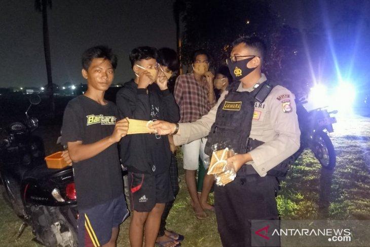 Team Jawara Polres Cilegon laksanakan patroli jaga situasi kamtibmas