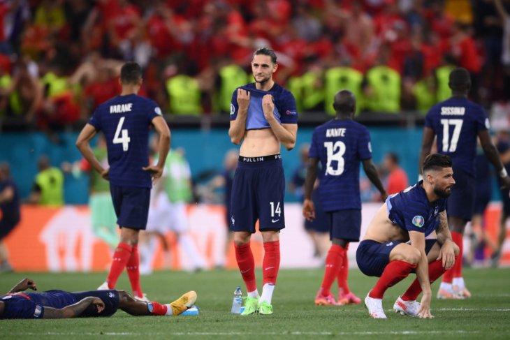 Euro 2020, Prancis tumbang