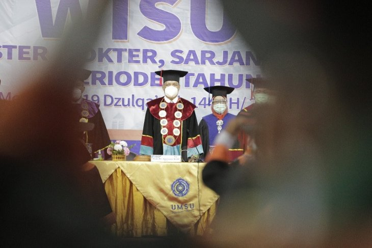 UMSU wisuda 663 lulusan