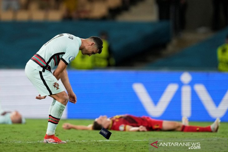 Top skor Euro: Ronaldo masih memimpin tapi tak bisa tambah gol
