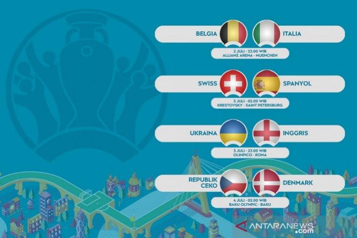 Perempat final Euro 2020: Belgia dan Italia bertemu bak final prematur