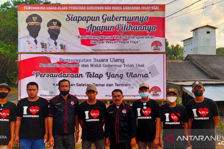 Ajakan damai menjaga persaudaraan menggema di Tapin setelah PSU