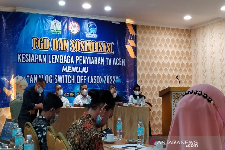 Migrasi TV analog ke digital di Banda Aceh mulai berlaku 17 Agustus
