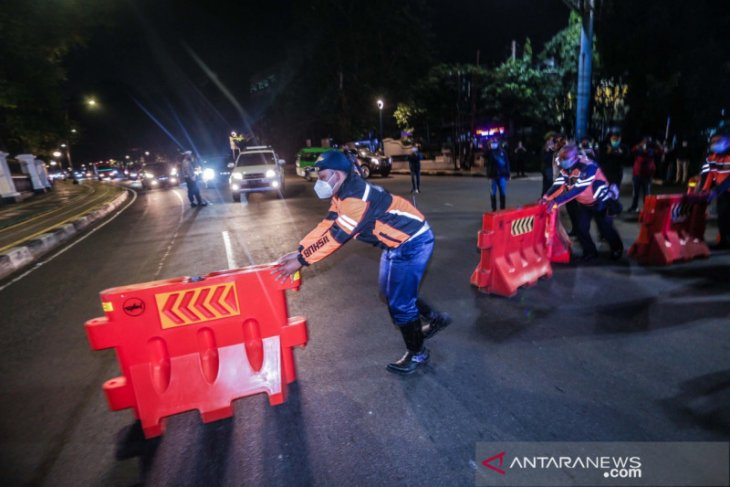Kota Bogor berlakukan kebijakan penyekatan total kendaraan bermotor