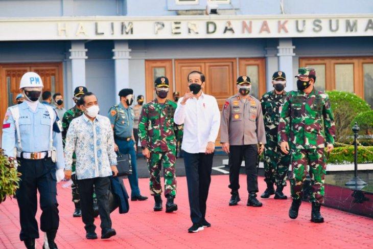 Presiden Joko Widodo  kunjungan kerja ke Sultra