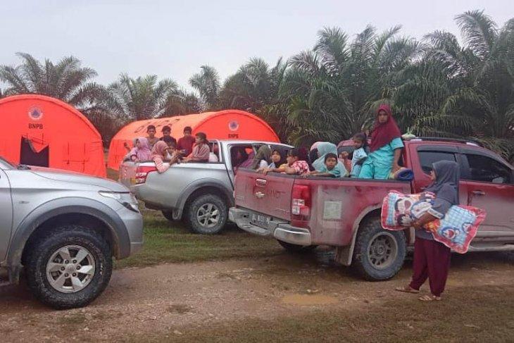 Ratusan pengungsi gas beracun di Aceh dipulangkan