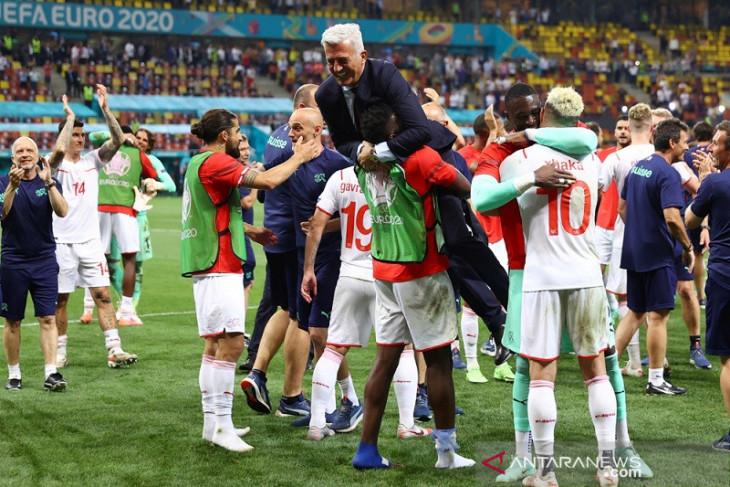 Swiss belum puas hanya capai perempat final Euro 2020