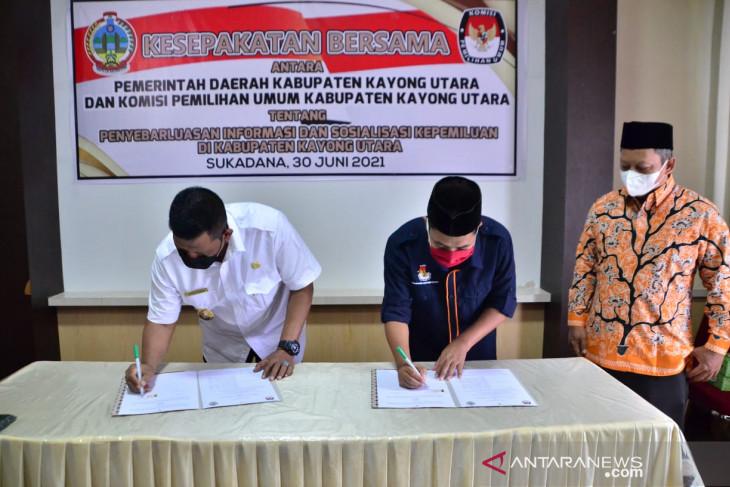 Bupati Kayong Utara tegaskan dukung KPU dalam program kepemiluan