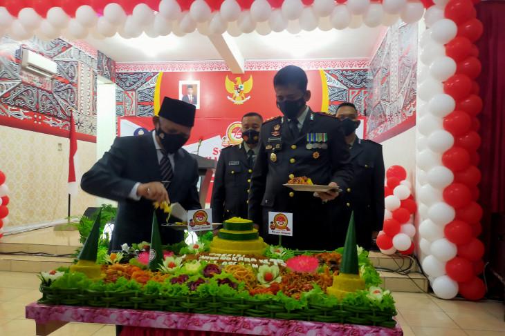 HUT Bhayangkara, Bupati Asahan berharap sinergitas bersama Polri ditingkatkan
