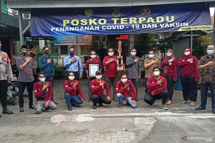 Kelurahan Citangkil juara III PPKM Mikro di Wilayah Banten