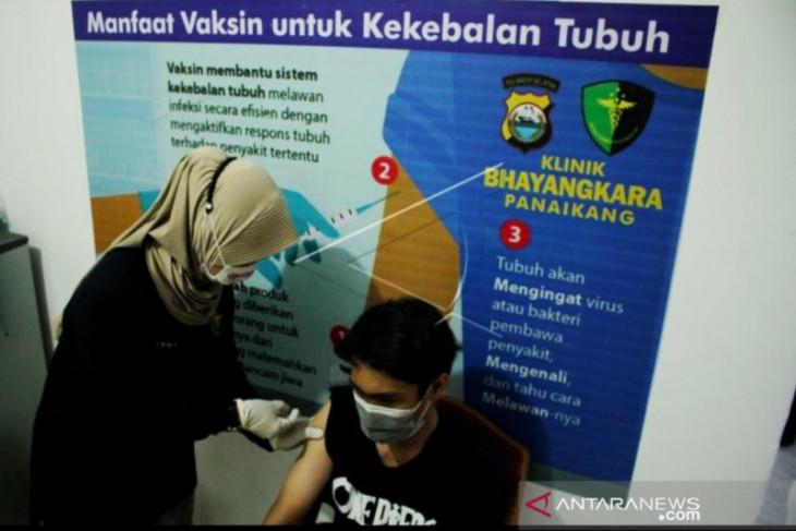 3.039  warga Sumut ikut vaksinasi melalui Gerai Vaksin Presisi
