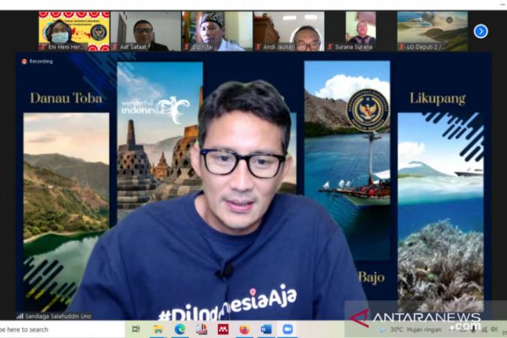 Menparekraf mendukung rencana pembuatan buku wisata halal Indonesia