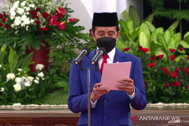 Presiden Jokowi: Polri harus benahi manajemen kelembagaan