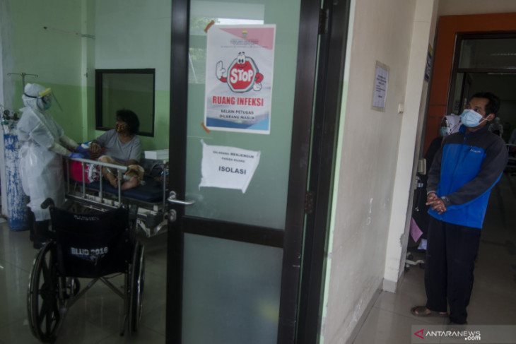 Bed occupancy rate in West Java hospitals declines to 79%