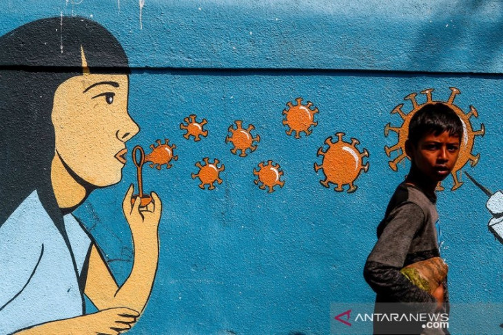 India laporkan 40.134 kasus baru virus corona