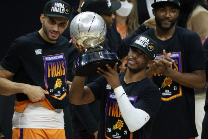 Basket NBA, Air mata bahagia Chris Paul penuhi dahaga Final NBA