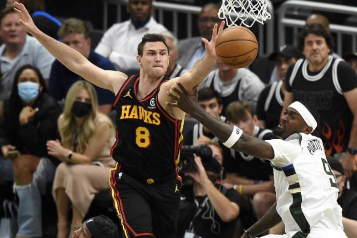 Basket NBA, Tanpa bintang, Bucks ungguli Hawks 3-2 dalam final Wilayah Timur