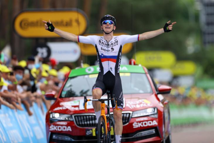 Pesepeda Mohoric juara etape 7, Van der Poel pertahankan kaus kuning