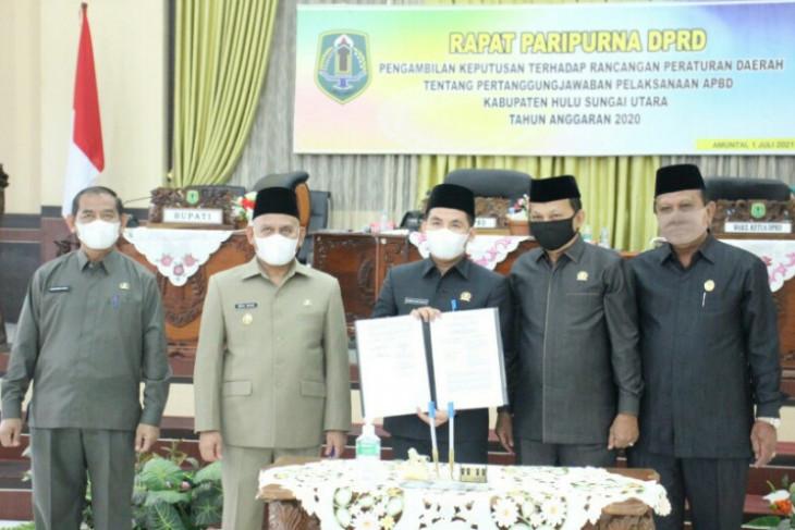DPRD setujui pertanggungjawaban APBD 2020