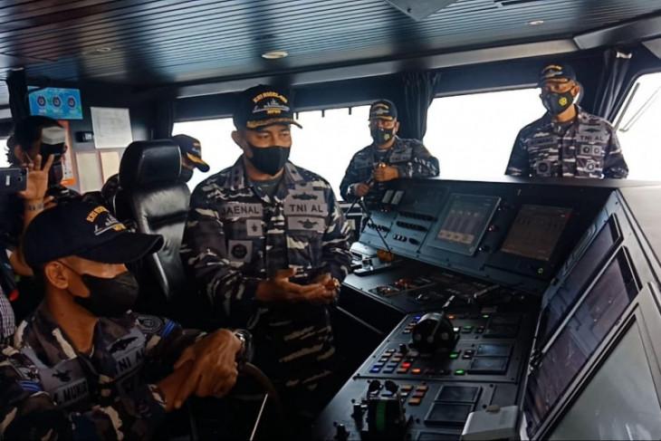 TNI AL : Posisi tenggelamnya KMP Yunicee tak halangi jalur penyeberangan