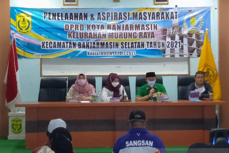 DPRD Banjarmasin serukan generasi muda segera vaksin