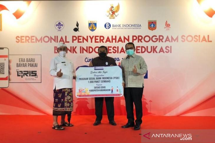 BI Bali serahkan program bantuan sosial penanggulangan pandemi COVID-19