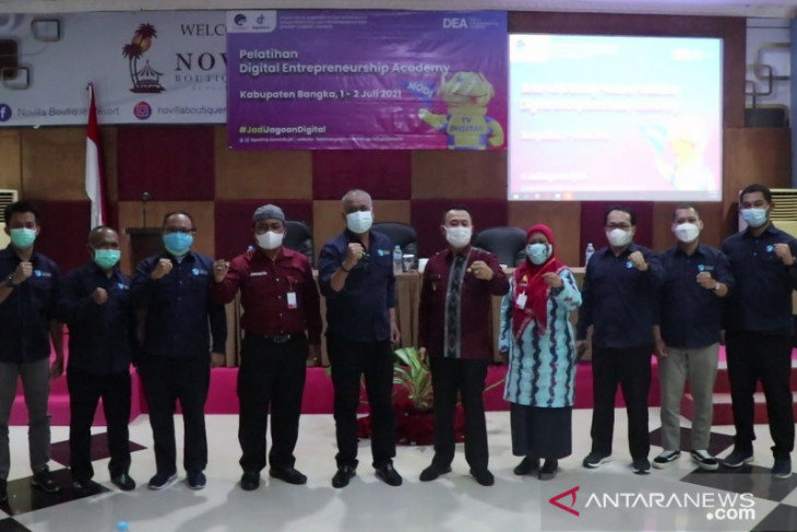 Wabup Bangka dorong UMKM ikuti perkembangan teknologi digital