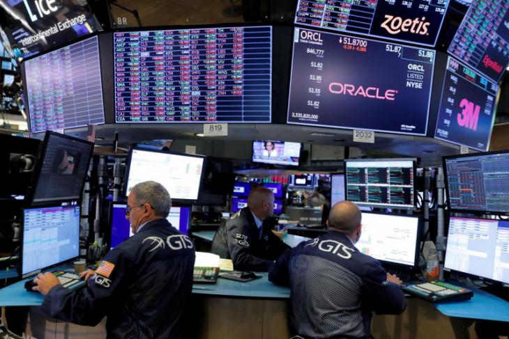 Saham AS ditutup naik didorong sektor energi