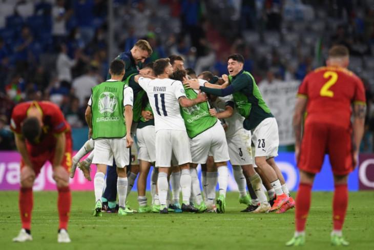 Italia bentrok dengan Spanyol di semifinal EURO 2021