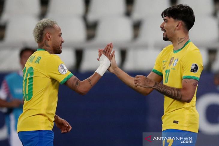 Neymar berharap Brazil bertemu Argentina di final Copa America