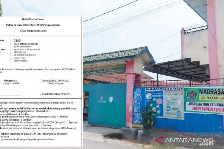Panitia PPDB MTsN Tanjungbalai diduga sengaja gagalkan peserta ujian