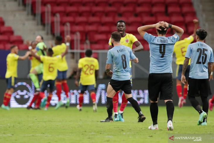 Copa America, Kolombia ke semifinal usai kalahkan Uruguay lewat adu penalti
