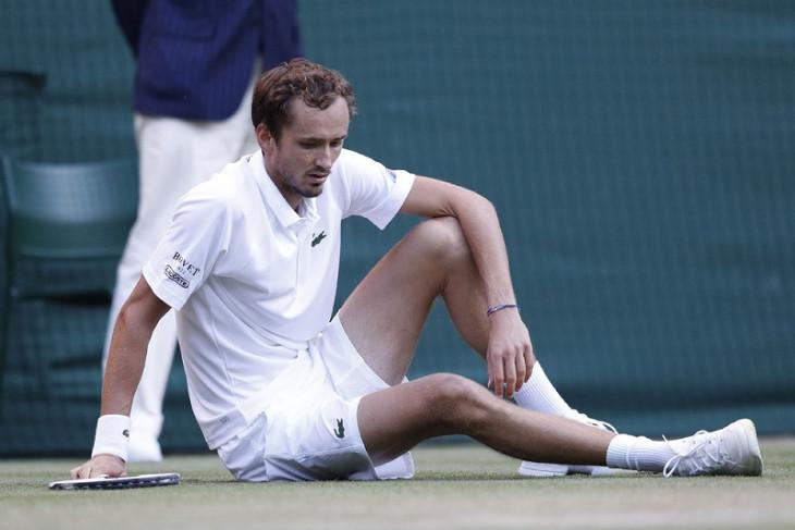 Olimpiade Tokyo, Medvedev berjuang melawan panas, siap  hadapi Djokovic