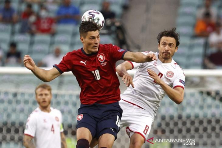 Euro 2020, Ceko kehabisan tenaga saat disingkirkan Denmark