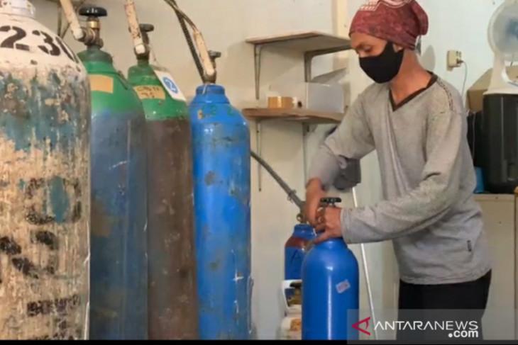 Jumlah pasien COVID-19 meningkat, Kota Bogor alami kelangkaan gas oksigen