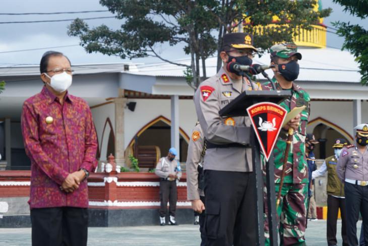 Polda Bali kerahkan 1.495 personel untuk PPKM darurat