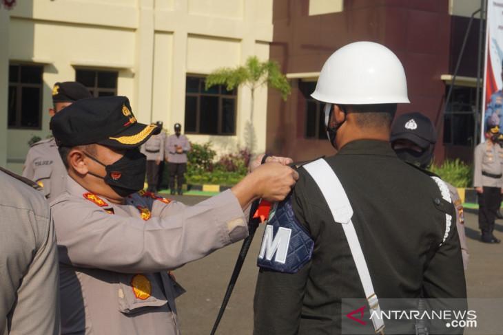 Polres Pandeglang gelar Operasi Nusa II Maung guna dukung PPKM Darurat
