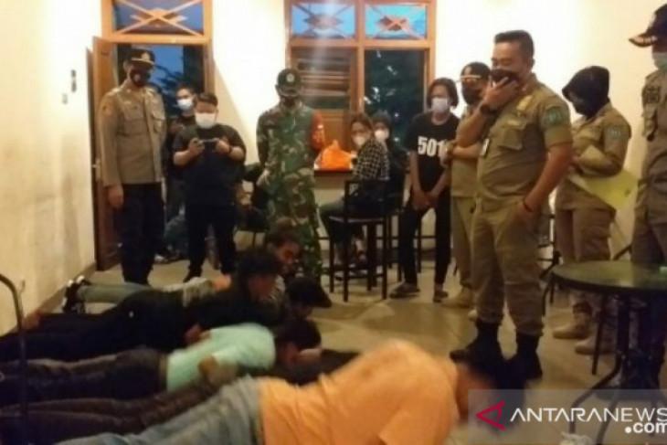 Tim yustisi Belitung jaring 23 pelanggar protokol kesehatan