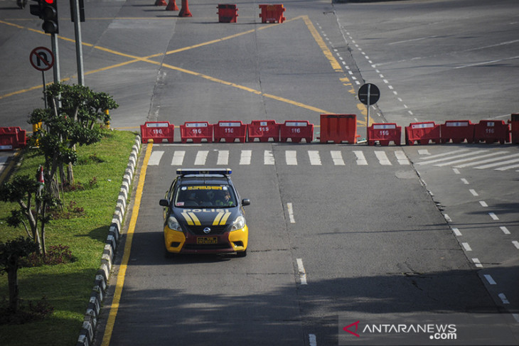 Penutupan jalan protokol di Kabupaten Bandung