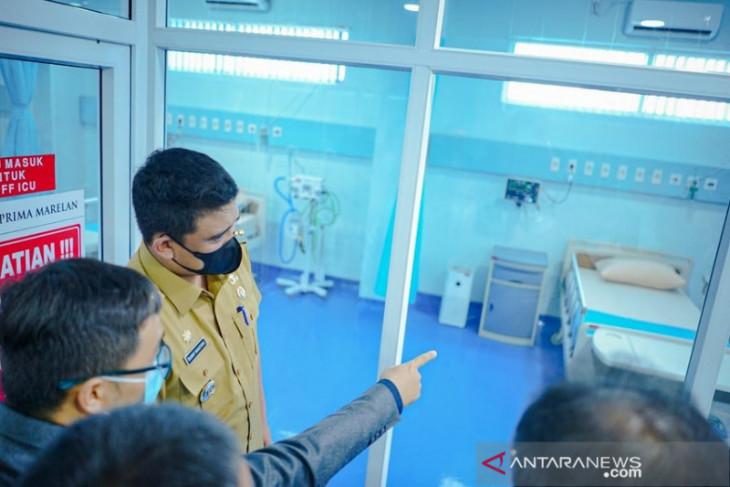 Keterisian tempat tidur rumah  sakit di Medan capai 33 persen