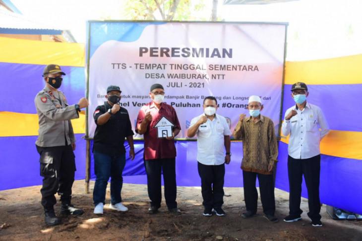Sekolah Relawan resmikan pembangunan TTS korban banjir NTT