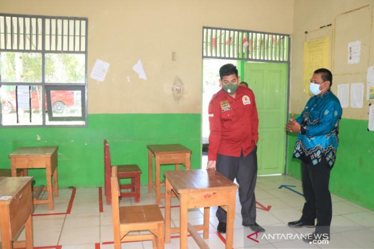 Ketua DPRD cek kesiapan PTM di SMPN 14 Banjarbaru