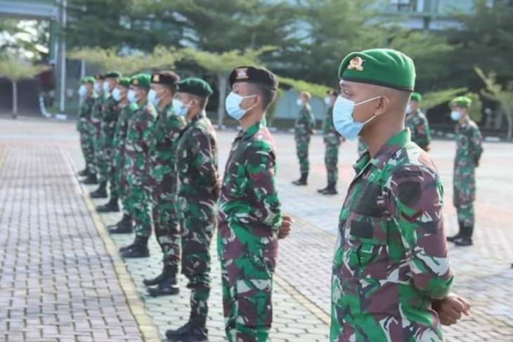 Pangdam Tanjungpura lepas 84 personel Apter berangkat ke Papua