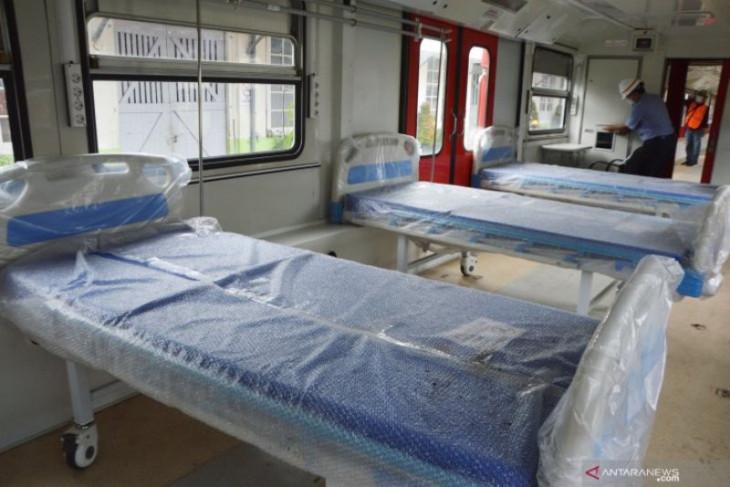 PT INKA's emergency hospital treating 60 COVID-19 patients