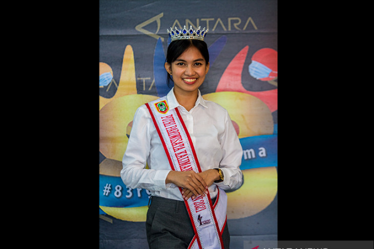 Podcast ANTARA Kalsel Bersama Putri Pariwisata Kalsel 2021