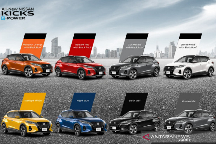 Nissan Kicks  e-Power punya empat warna baru
