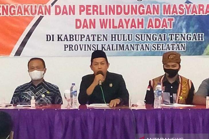 Wakil Ketua DPRD HST dukung percepatan pembentukan perda perlindungan masyarakat adat