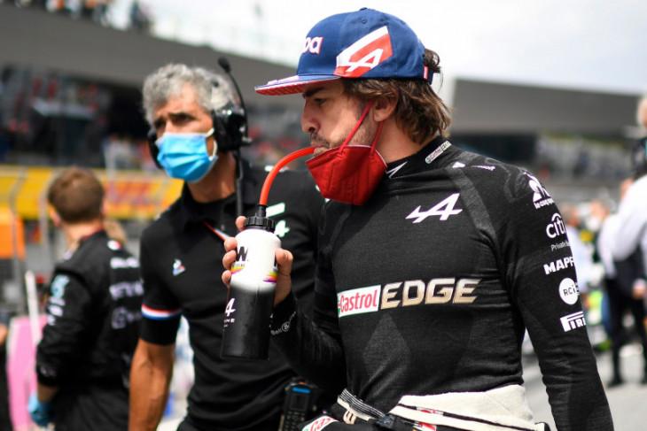 Alonso bersimpati kepada Russell  setelah curi poin di GP Austria