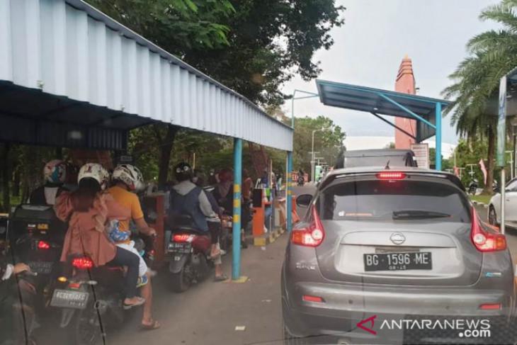 Sriwijaya Expo 2021 juga diramaikan kehadiran komunitas pecinta batu akik